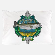 Personalized Striper Pillow Case