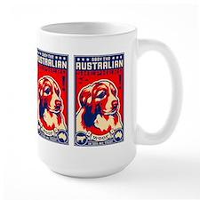 Obey the AUSTRALIAN Shepherd! Coffee Mugs