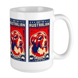 Australian shepherd coffee mugs Large Mugs (15 oz)