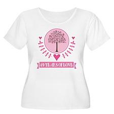 49th Anniversary Love Tree T-Shirt