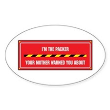 I'm the Packer Oval Decal