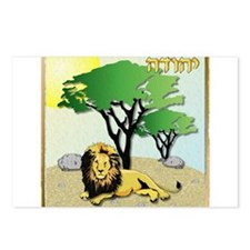 12 Tribes Israel Judah Postcards (Package of 8)