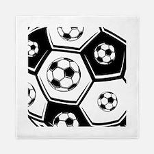 Love Soccer Queen Duvet