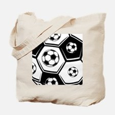 Love Soccer Tote Bag