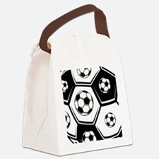 Love Soccer Canvas Lunch Bag