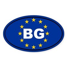 Bulgaria European Union Decal
