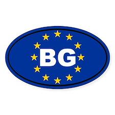 Bulgaria European Union Decal