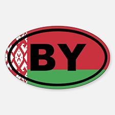 Belarus flag Decal