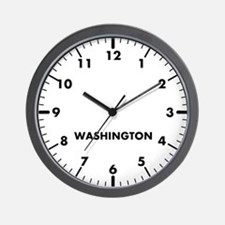 Custom Modern Newsroom Wall Clock