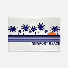 Newport Beach, California Rectangle Magnet