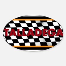 Talladega Alabama License Plate Decal