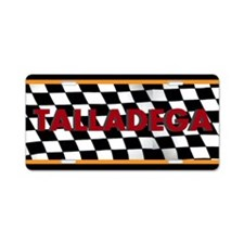 Talladega Alabama License Plate Aluminum License P