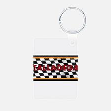 Talladega Alabama License Plate Keychains