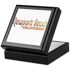 Newport Beach, California Keepsake Box