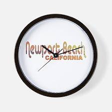 Newport Beach, California Wall Clock