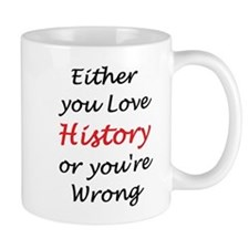 love history or Small Mugs