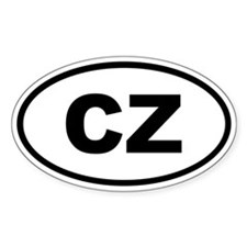 Czech Republic CZ Decal