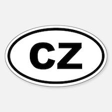 Czech Republic CZ Decal
