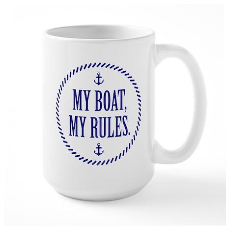 My Boat, My Rules Mugs