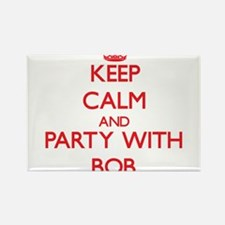 Keep Calm and Party with Bob Magnets