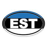 Estonia Stickers