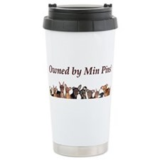 Cute Miniature pinscher Travel Mug