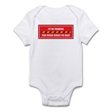I'm the Paramedic Infant Bodysuit