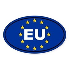 European Union flag Decal