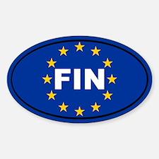 Finland European Union Decal