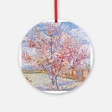 Van Gogh Peach Trees in Blossom Ornament (Round)
