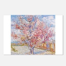 Van Gogh Peach Trees in Blossom Postcards (Package