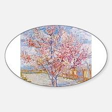 Van Gogh Peach Trees in Blossom Decal