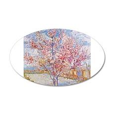 Van Gogh Peach Trees in Blossom Wall Decal