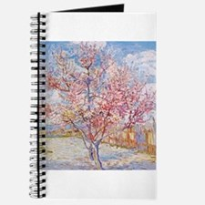 Van Gogh Peach Trees in Blossom Journal
