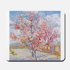 Van Gogh Peach Trees in Blossom Mousepad