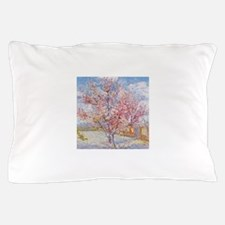 Van Gogh Peach Trees in Blossom Pillow Case