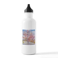 Van Gogh Peach Trees in Blossom Water Bottle