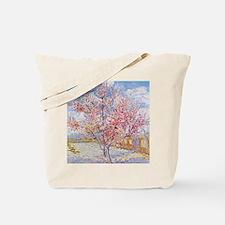 Van Gogh Peach Trees in Blossom Tote Bag