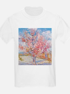 Van Gogh Peach Trees in Blossom T-Shirt