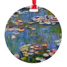 Monet Water lilies Ornament
