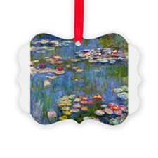 Monet Water lilies Ornament