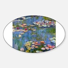 Monet Water lilies Decal