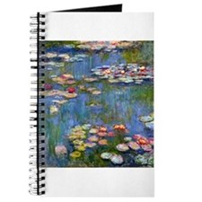 Monet Water lilies Journal