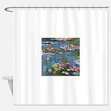 Monet Water lilies Shower Curtain