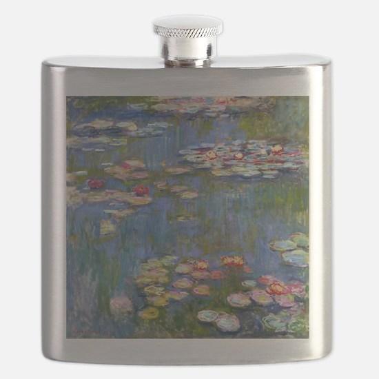 Monet Water lilies Flask
