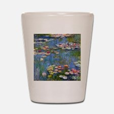 Monet Water lilies Shot Glass