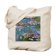 Monet Water lilies Tote Bag