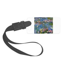 Monet Water lilies Luggage Tag