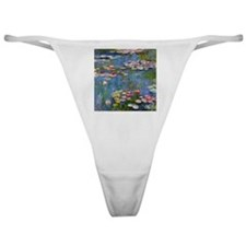 Monet Water lilies Classic Thong