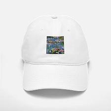 Monet Water lilies Baseball Baseball Baseball Cap